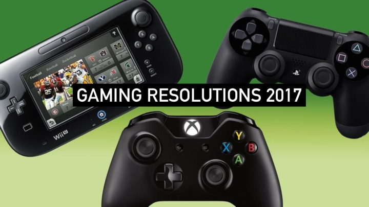 A fresh start and some gaming resolutions for 2017